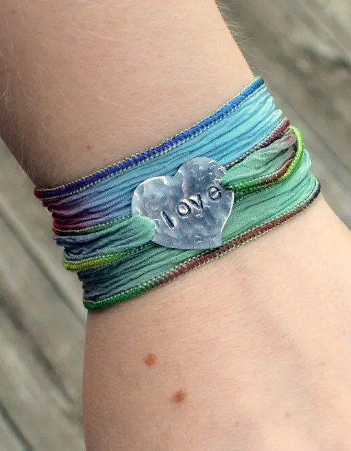 Ribbon Wrap Bracelet