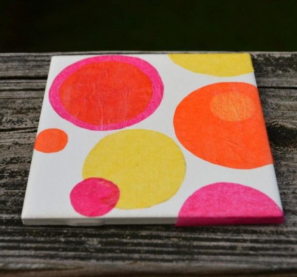 Kandinsky Circles Coaster