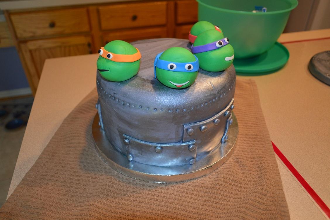 TMNT Birthday Cake - Amy Latta Creations