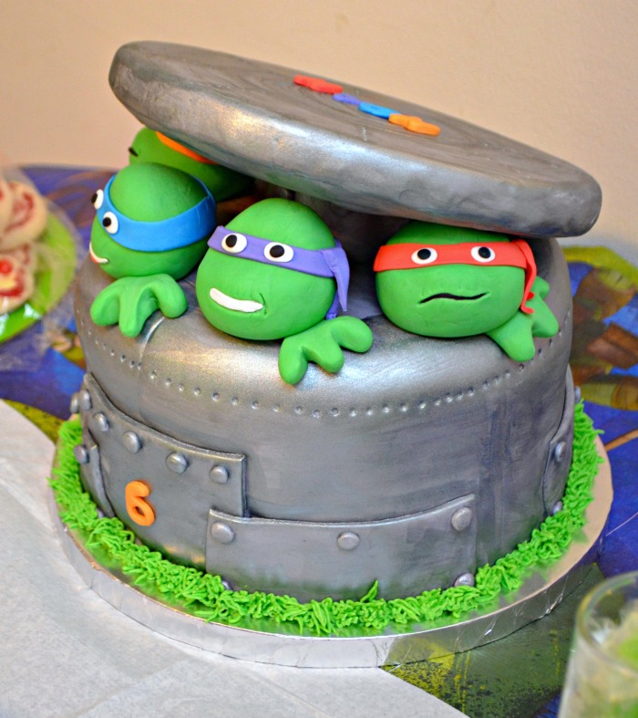 Superb Tmnt Birthday Cake Amy Latta Creations Funny Birthday Cards Online Elaedamsfinfo