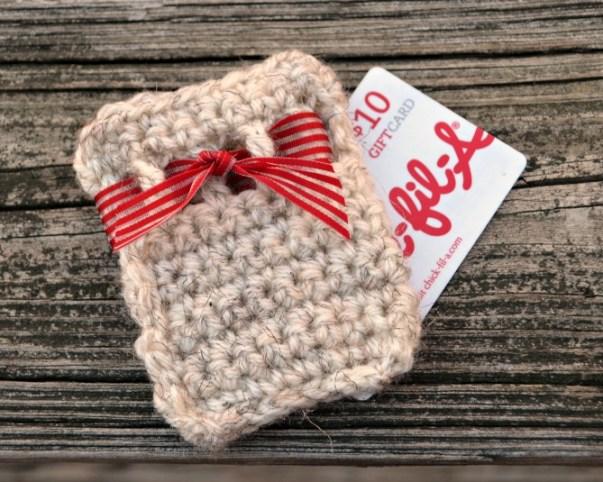 Crochet Gift Card Holder