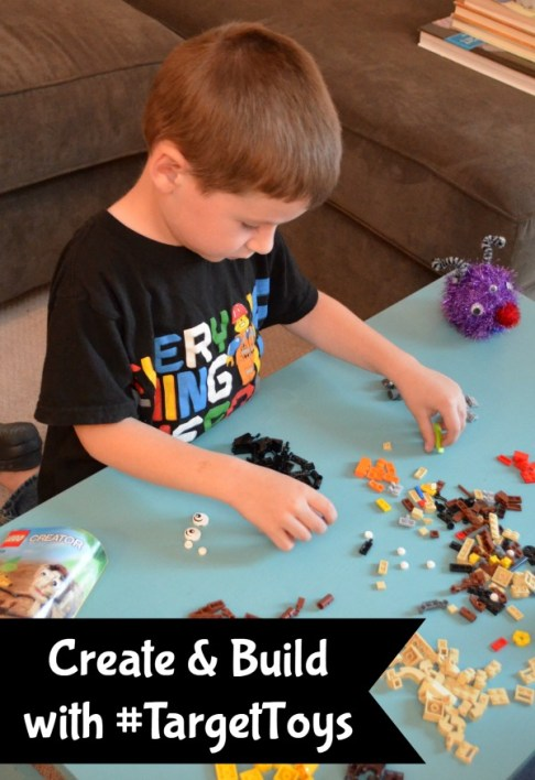 Create and Build with Target Toys