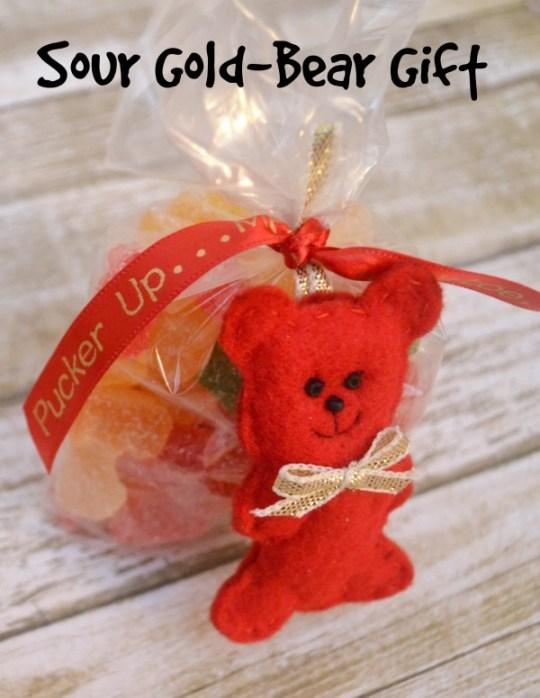 Sour Gummi Bear Gift