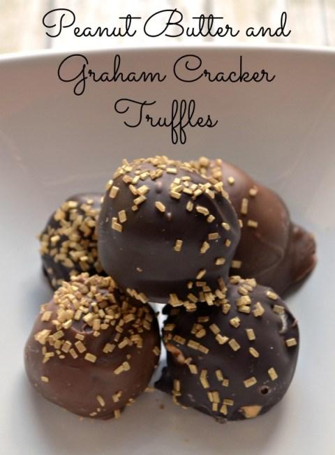 Peanut Butter Graham Cracker Truffles