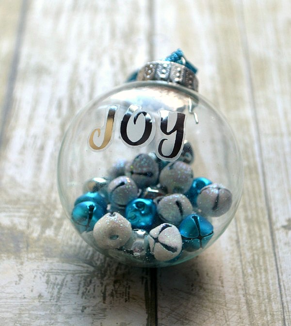 Joy Jingle Bell Ornament