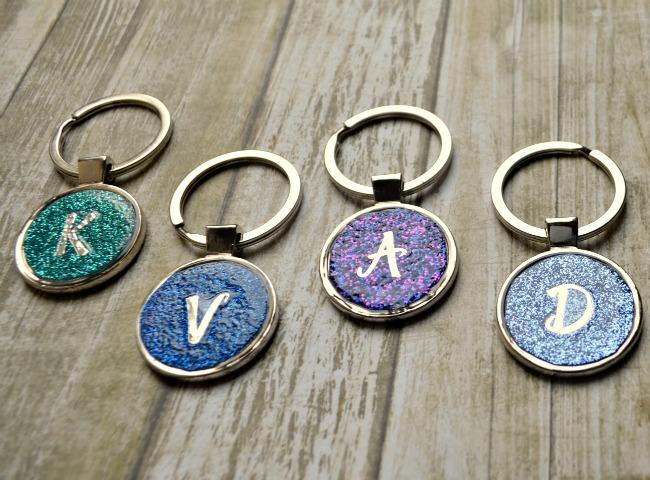 Glitter Keychains