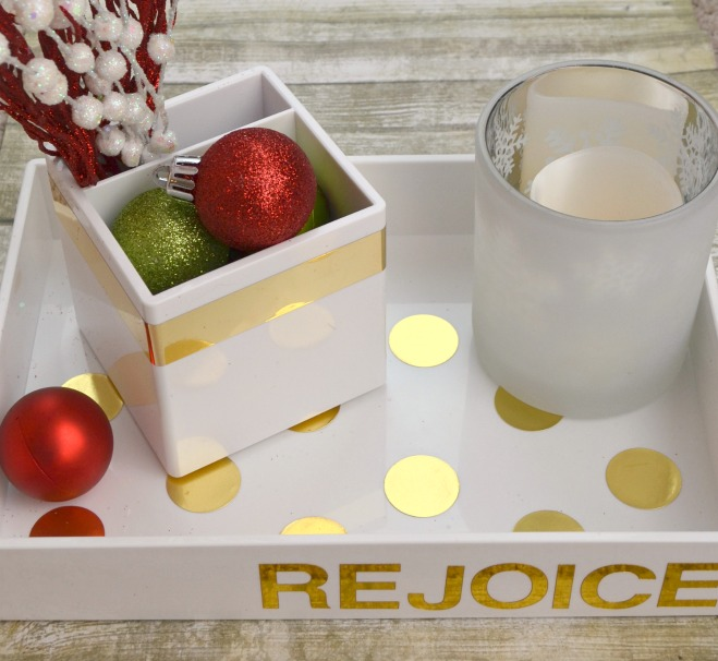 Holiday Tray