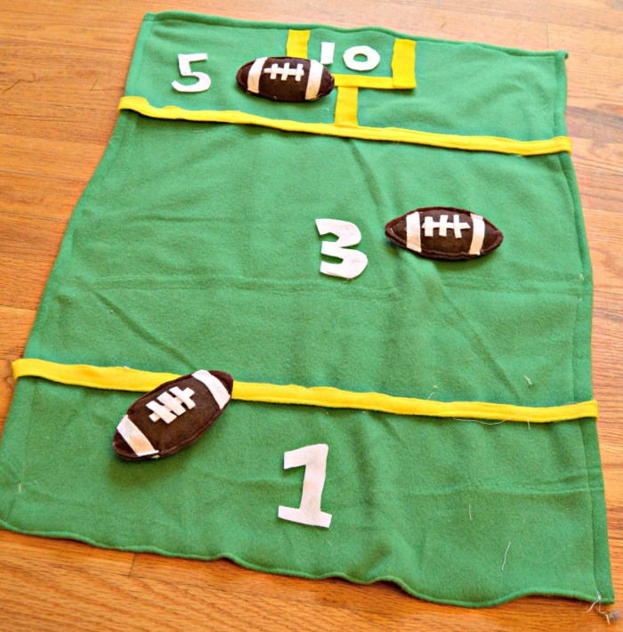 Bean Bag Football Toss