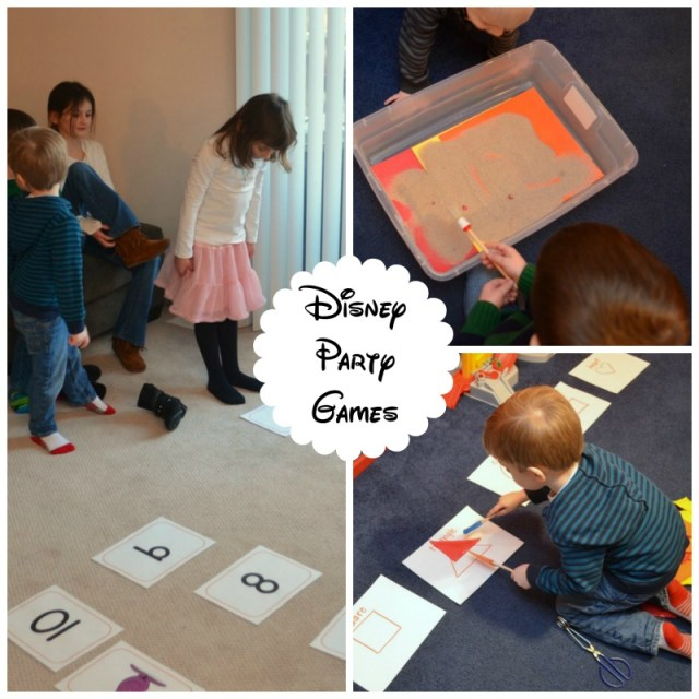 Disney Party Games