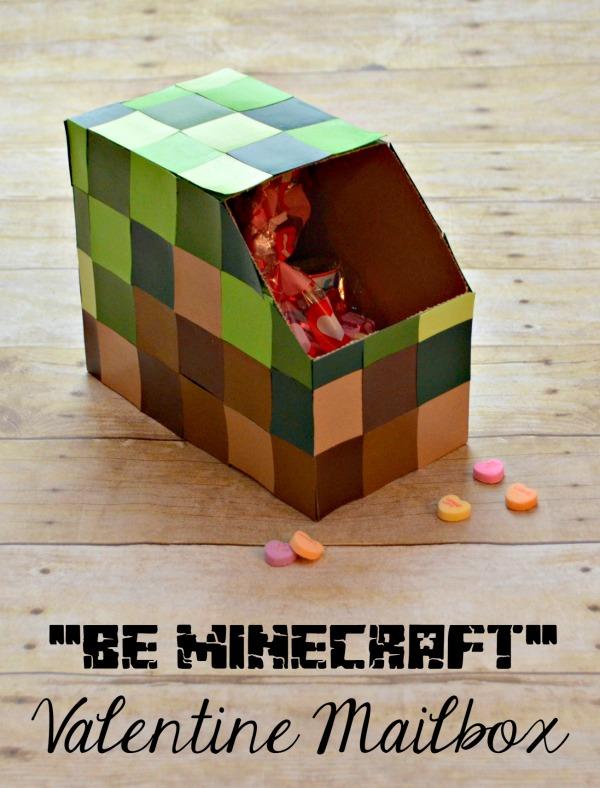 Minecraft Valentine's Day Mailbox