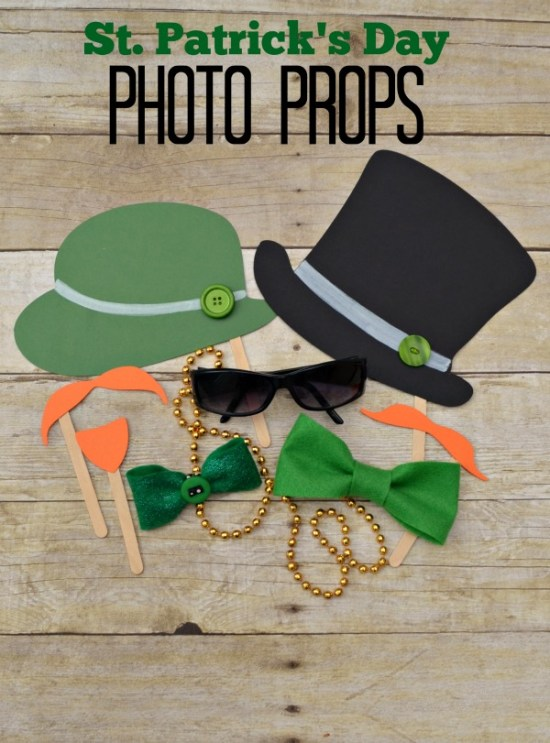 St. Patrick's Day Photo Props