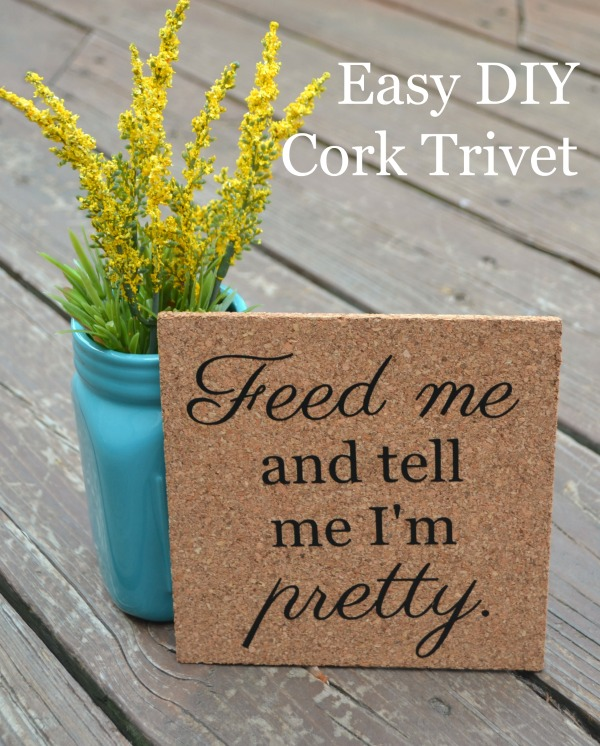 Easy DIY Cork Trivet