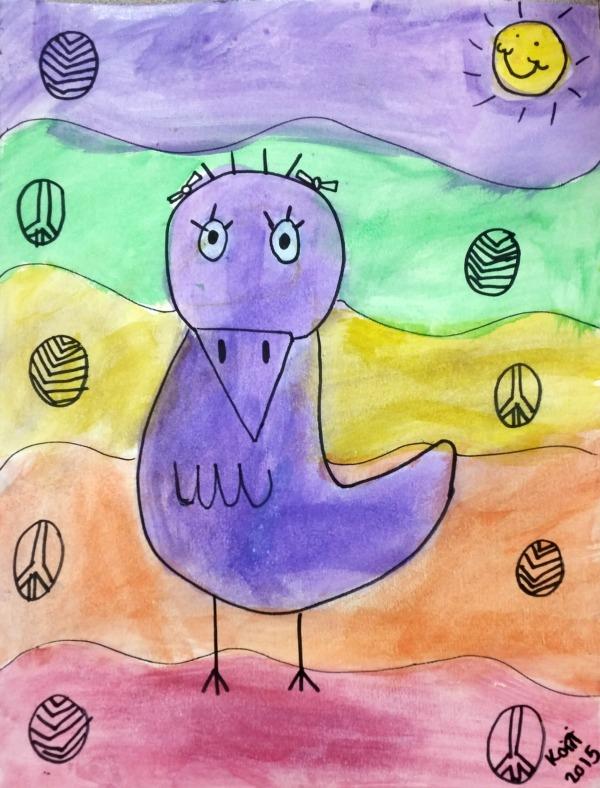 Art for Kids: James Rizzi Birds