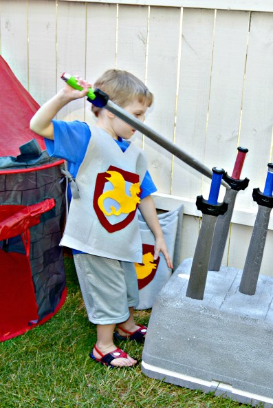 Knights and Dragons: Knighting Ceremony