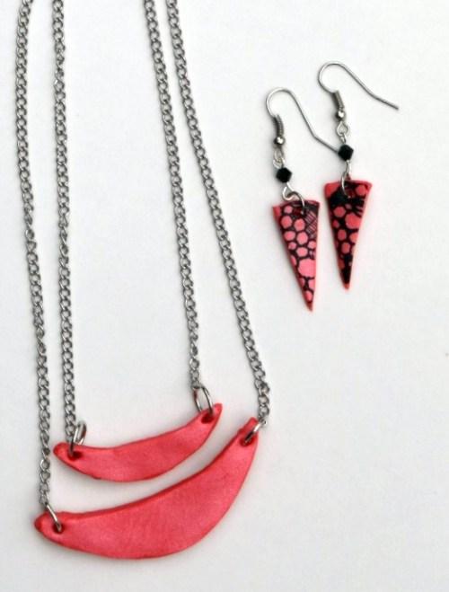 Geometric Clay Jewelry Tutorial