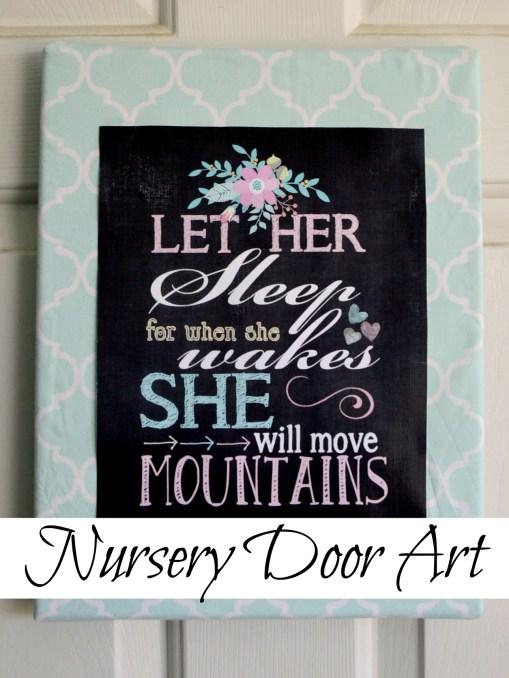 Nursery Door Art