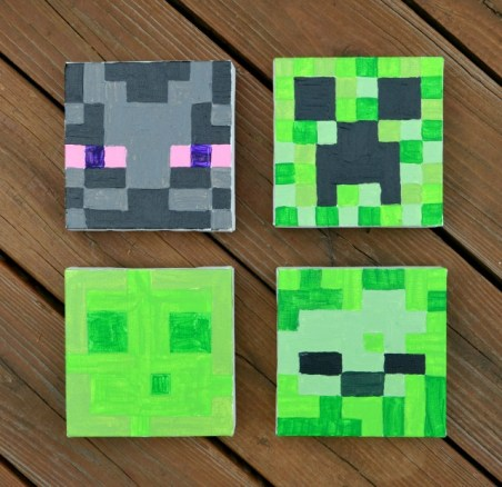 Minecraft Paintings