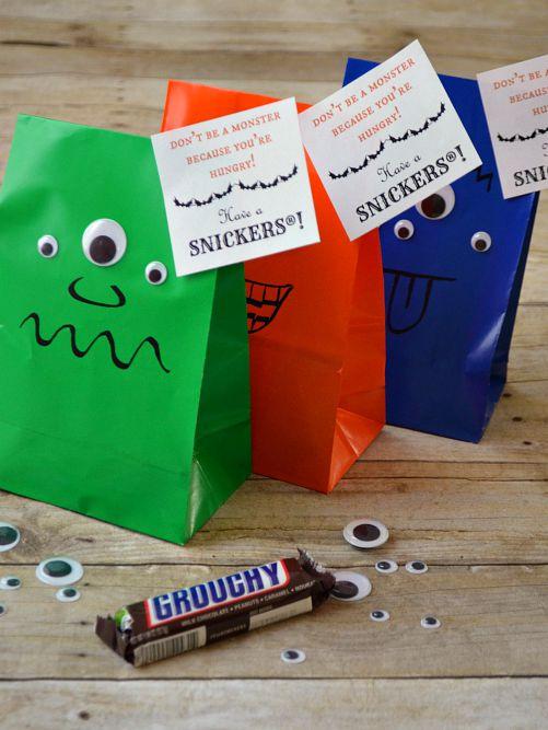 Monsters Treat Bag