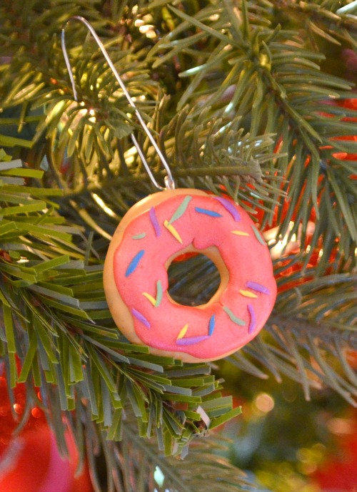 Clay Donut Ornament