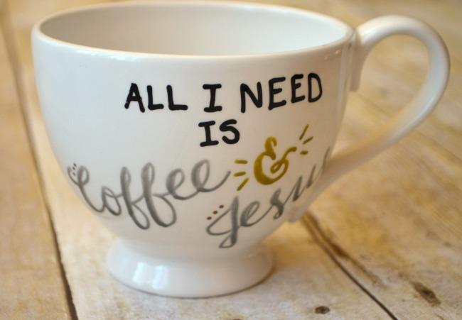 Coffee & Jesus mug