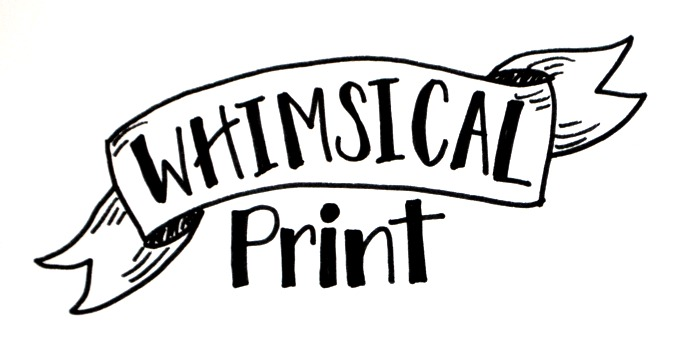 Basic Hand Lettering: Whimsical Print - Amy Latta Creations