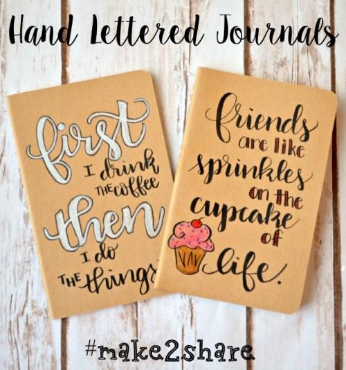 Lettered Journals