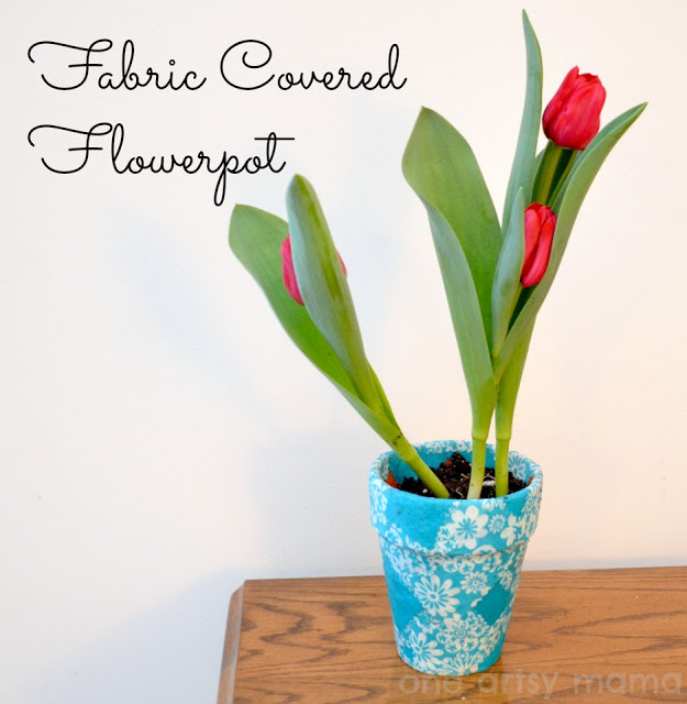 Fabric Flowerpots