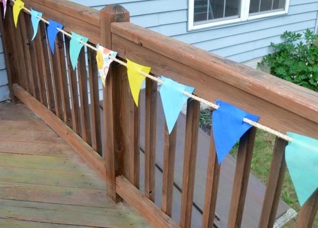 DIY Outdoor Banner