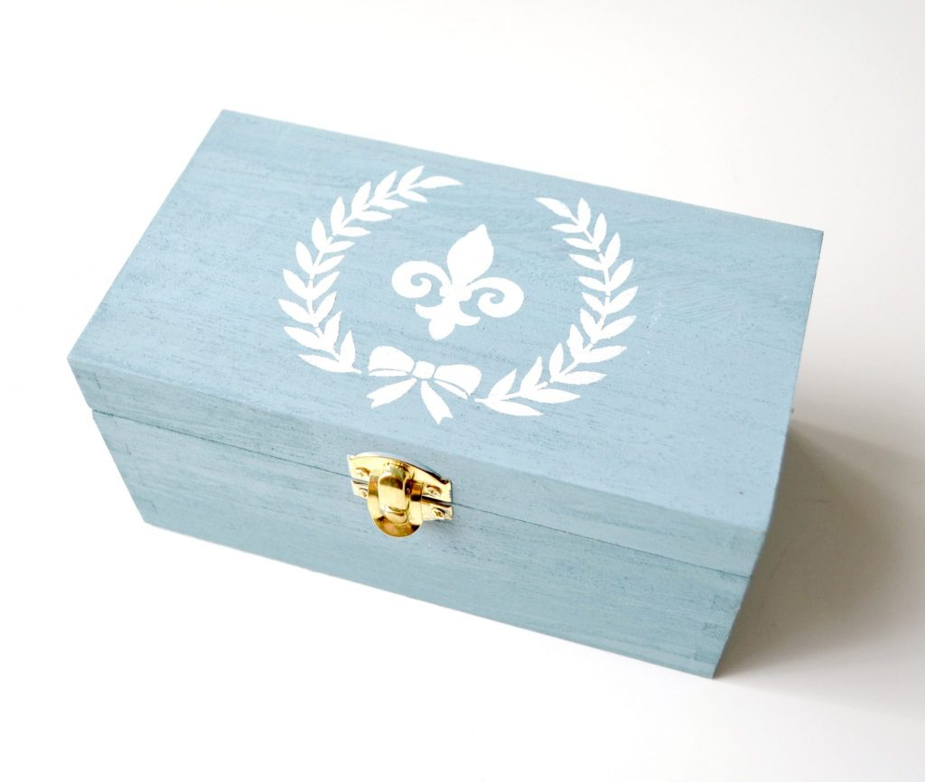 Painted Stenciled Box
