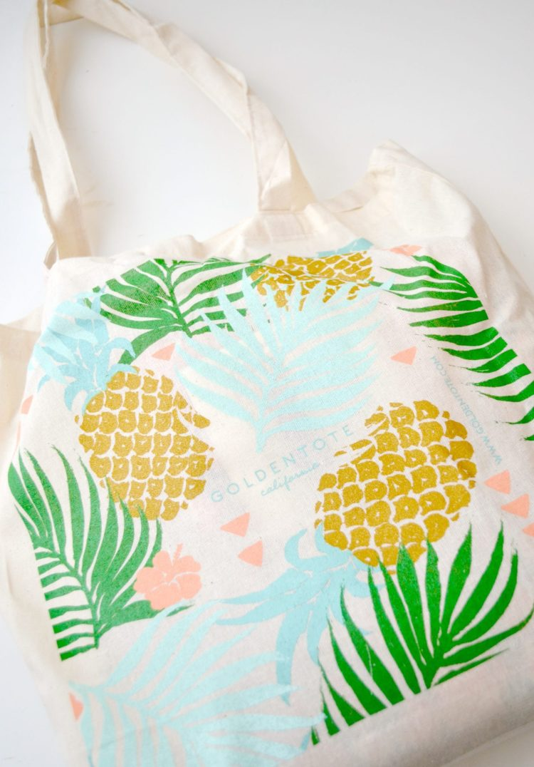 Golden Tote Discounted Fashion