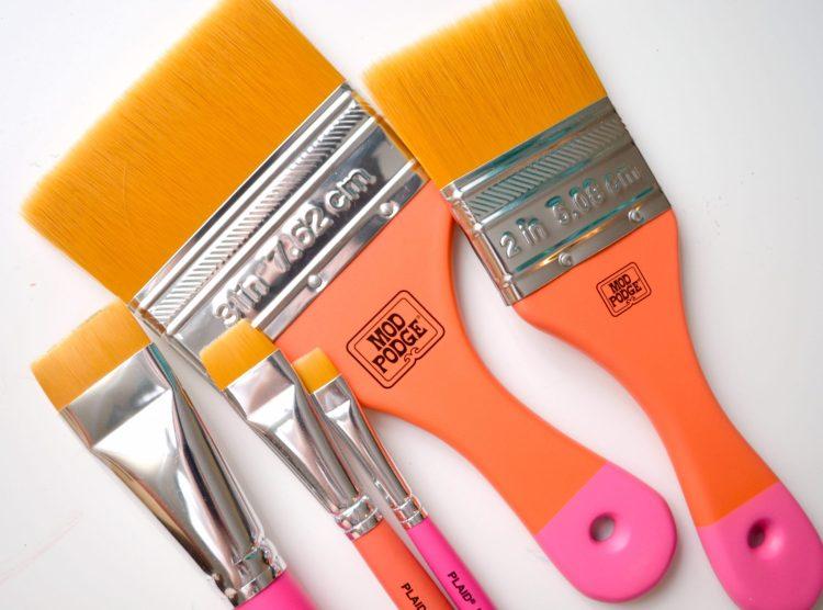 Mod Podge Decoupage Brushes