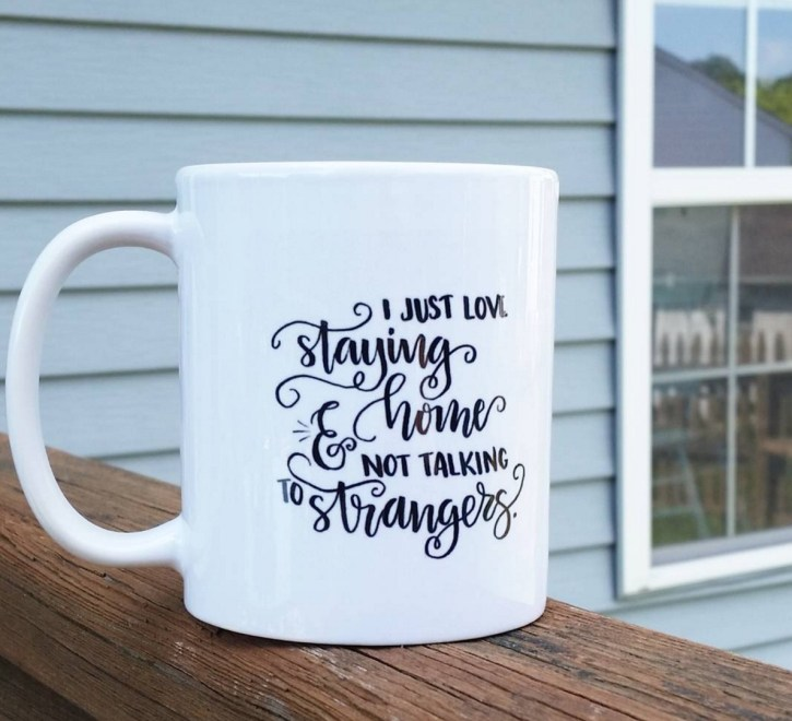 Shutterfly Mug with Lettering