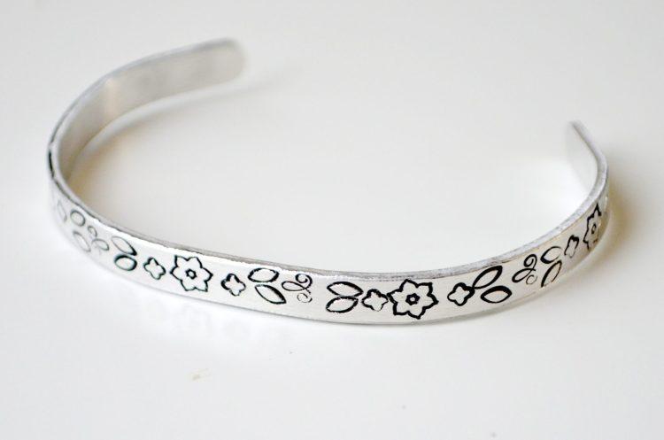 Metal Stamped Bracelet