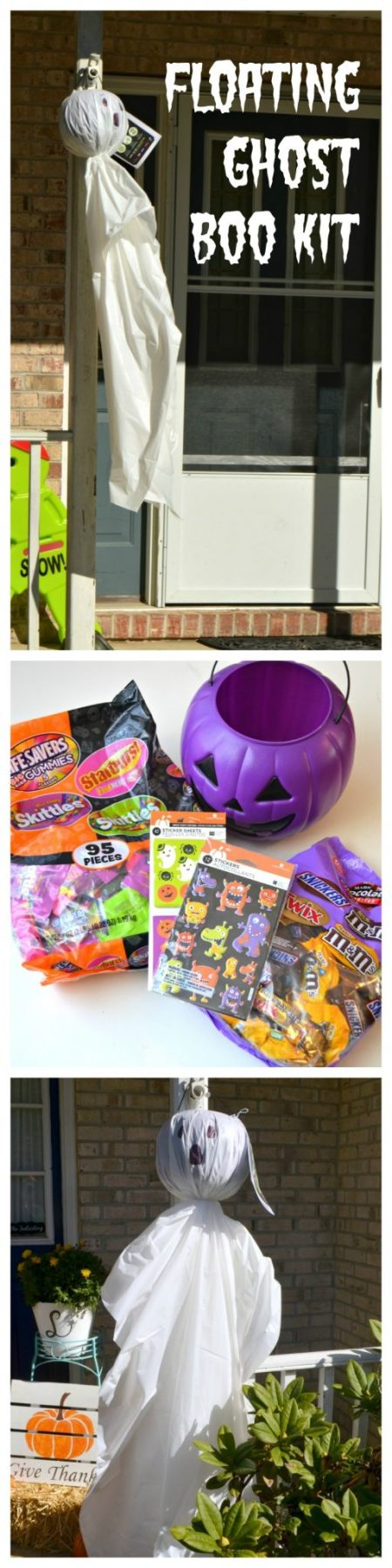 BOO Kit Floating Ghost Decoration