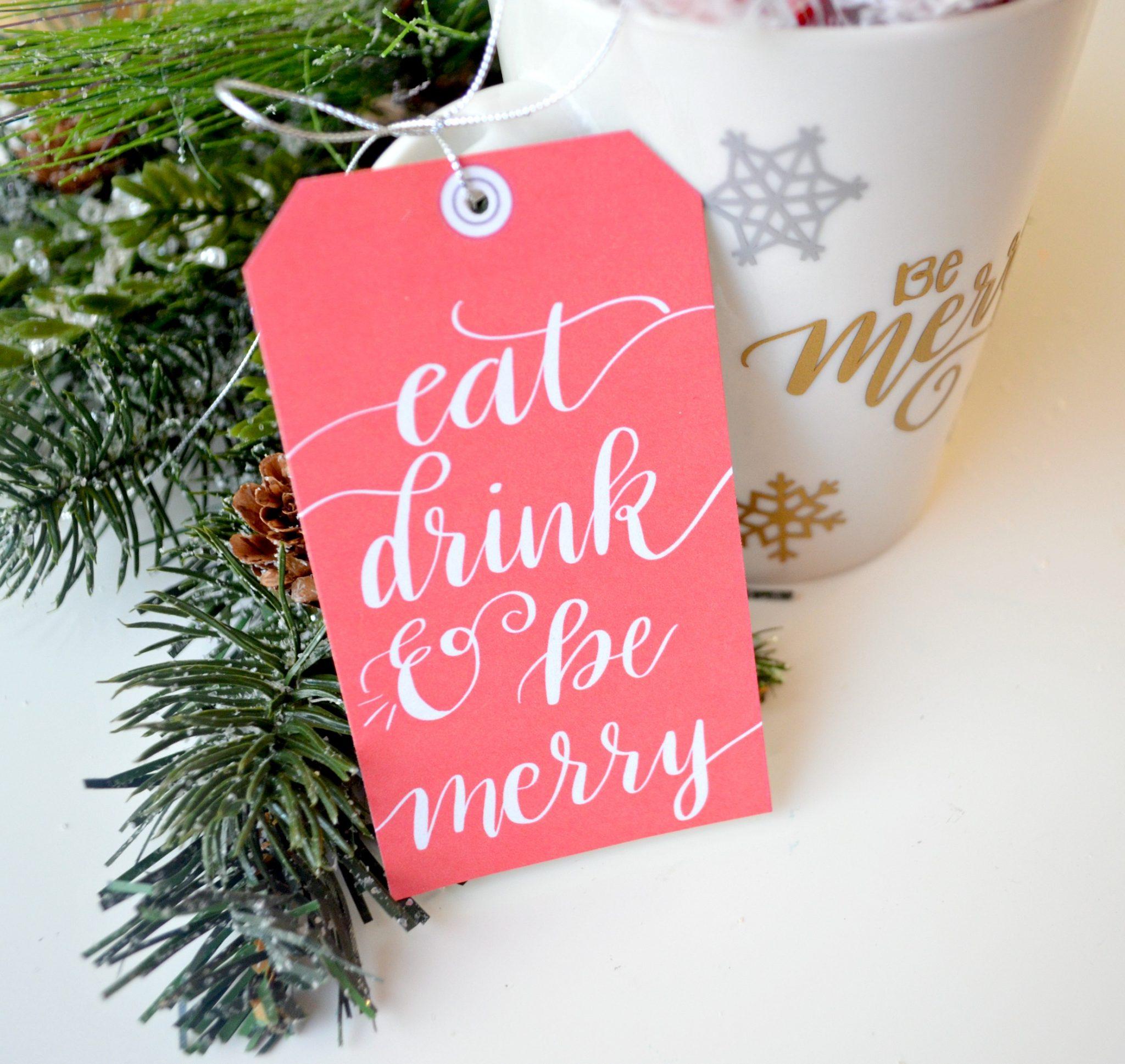 Printable Free Gift Tag