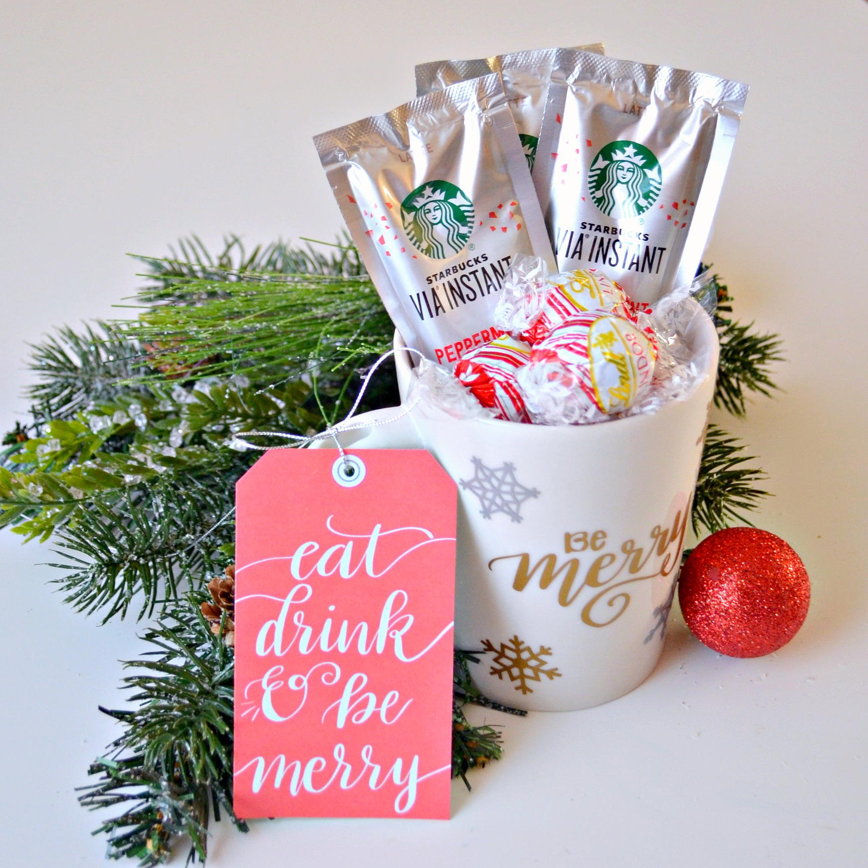 Starbucks & Lindt Gift Idea