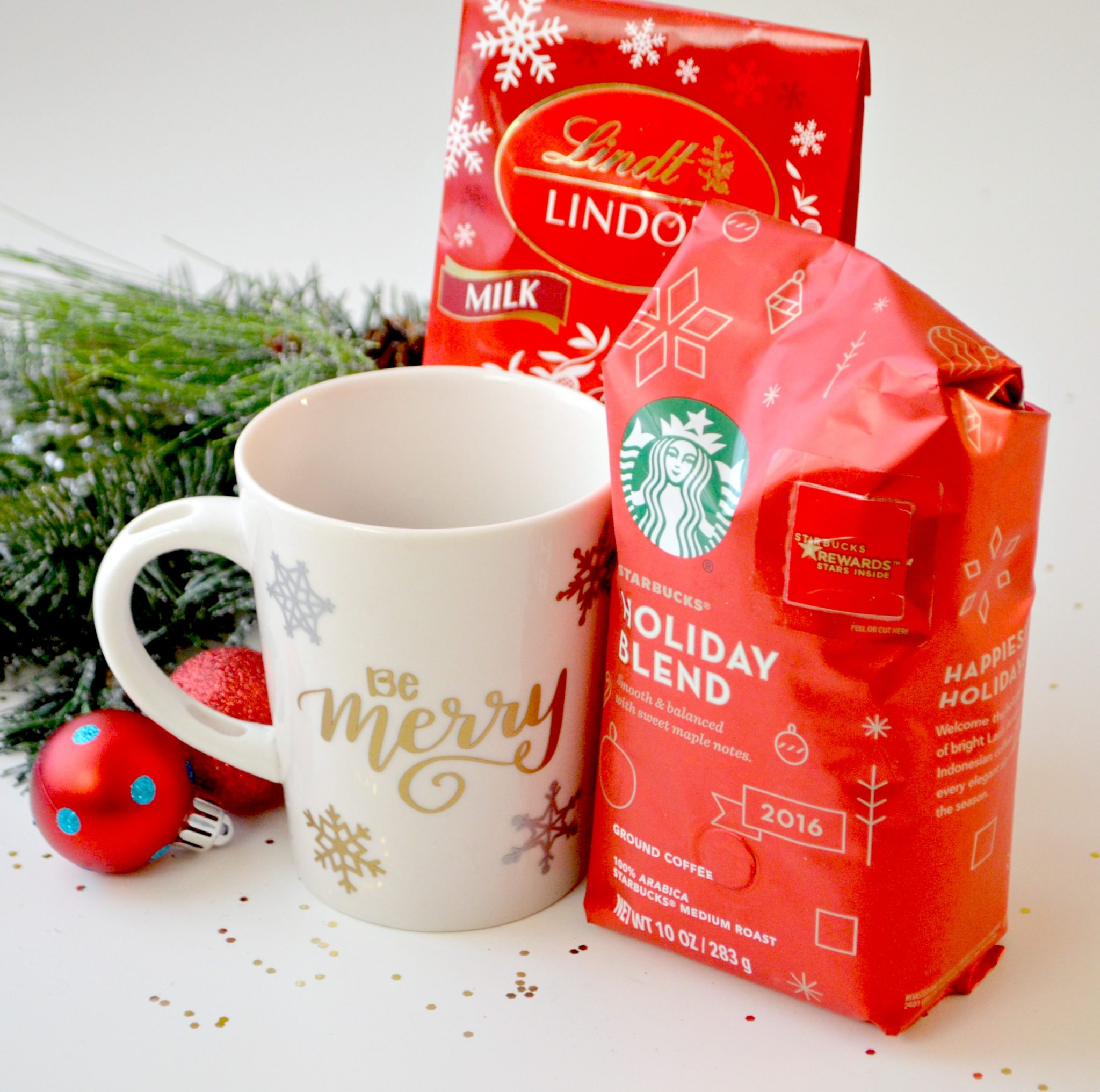 Starbucks and Lindt Coffee and Chocolate