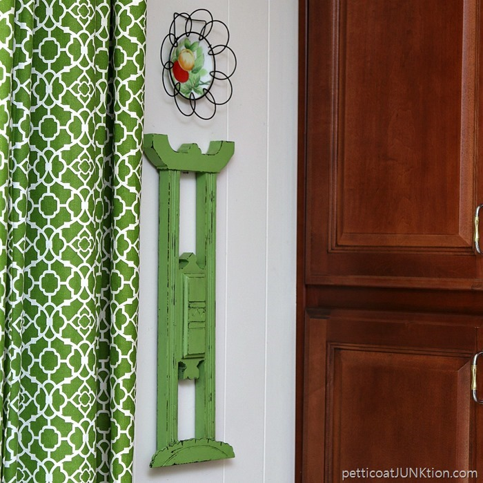 Green Eclectic Wall Decor