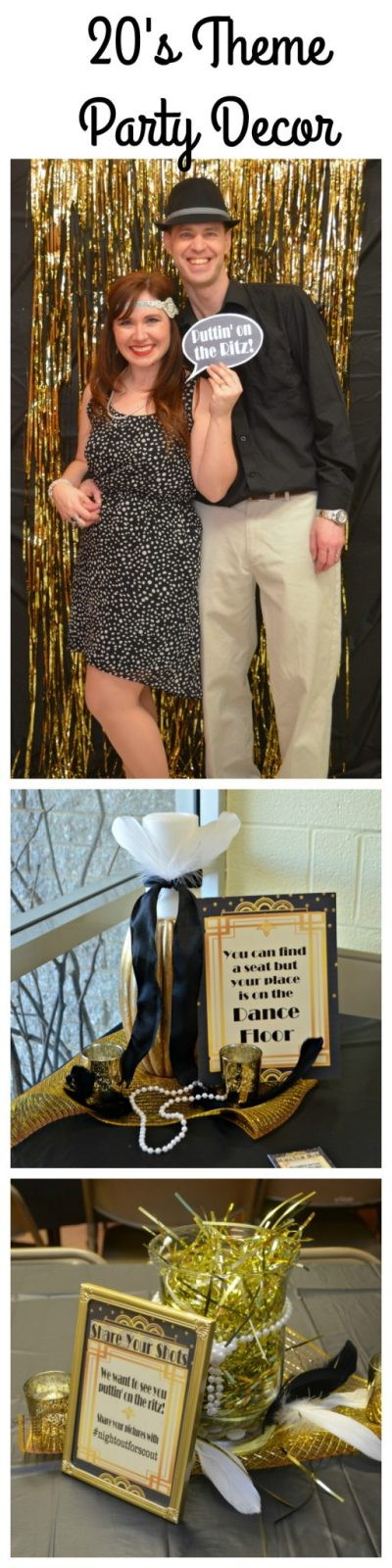 Roaring 20's Theme Party Decor