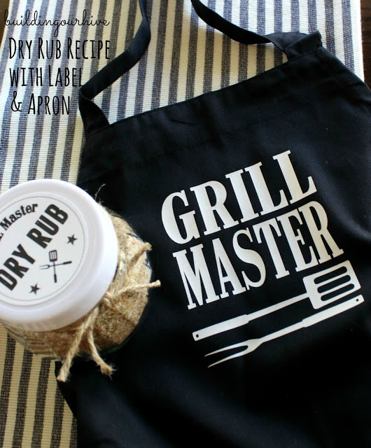 Grill Apron and Dry Rub