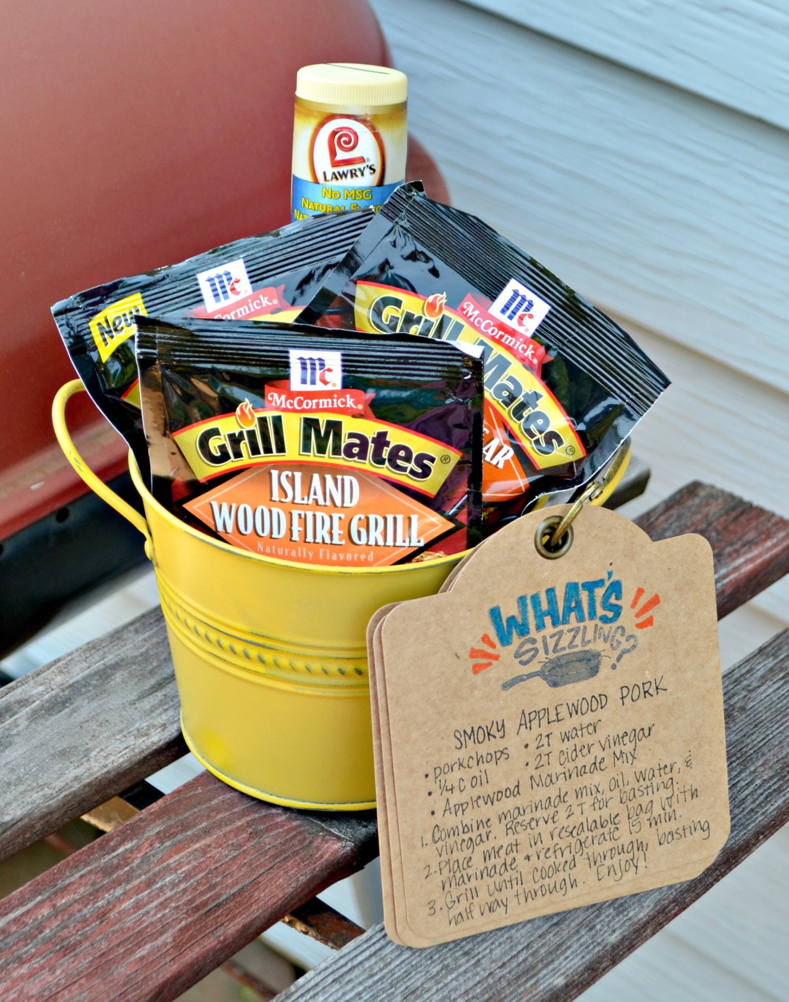 Grill Themed Gift Idea