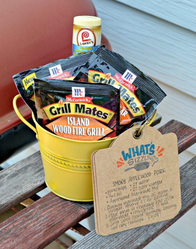 Grill Gift Basket and Recipe Cards