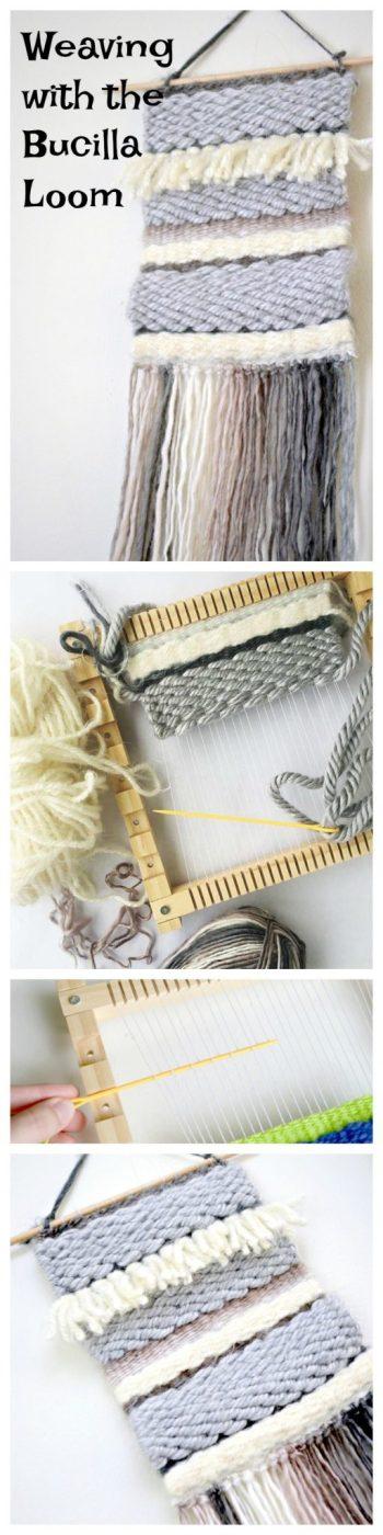 Weaving with the Bucilla Adjustable Loom