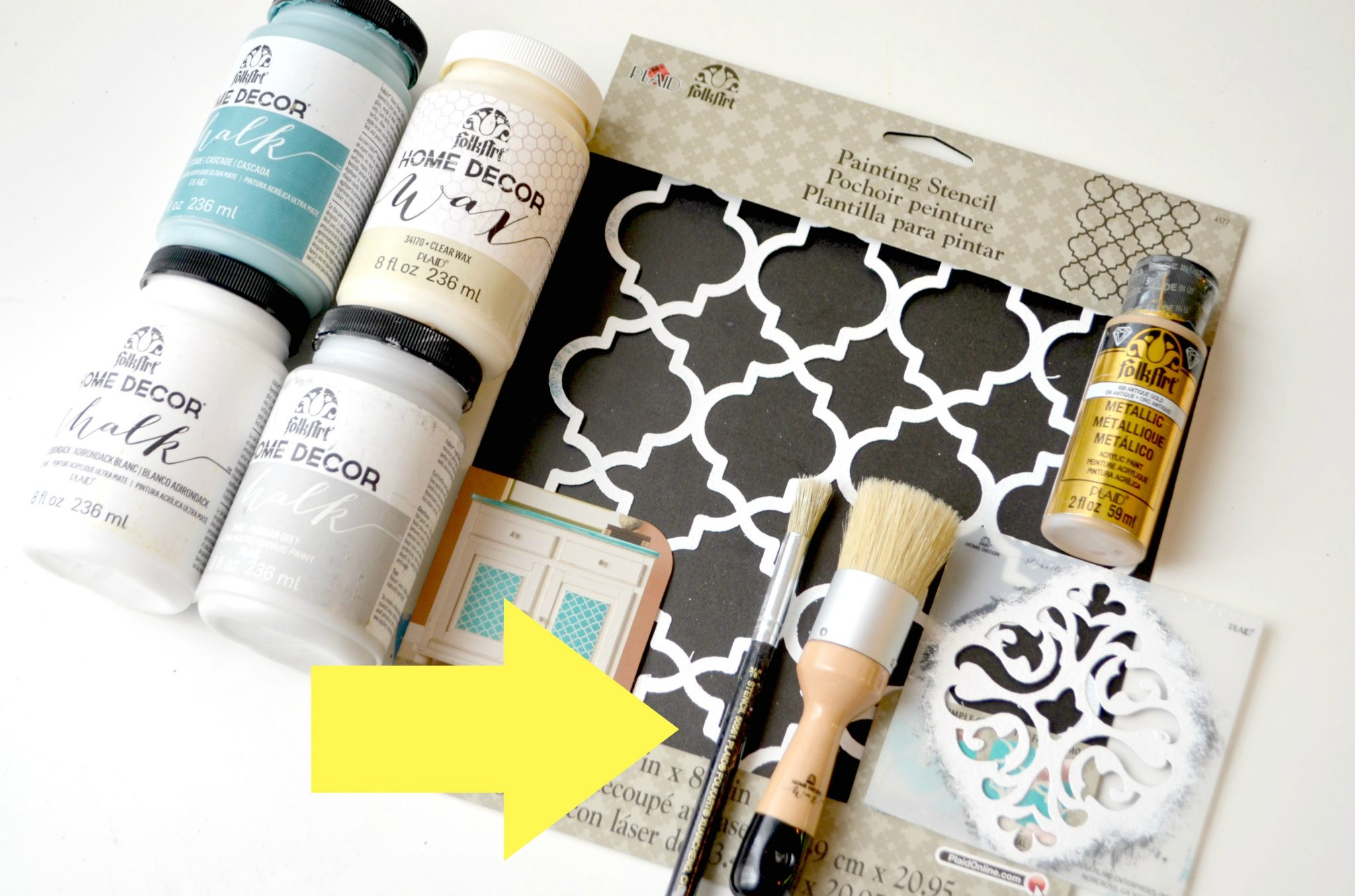 Pro Tips for Painting & Stenciling
