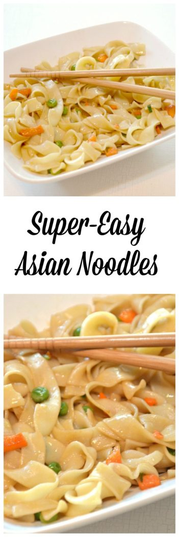 Super Easy Asian Noodles