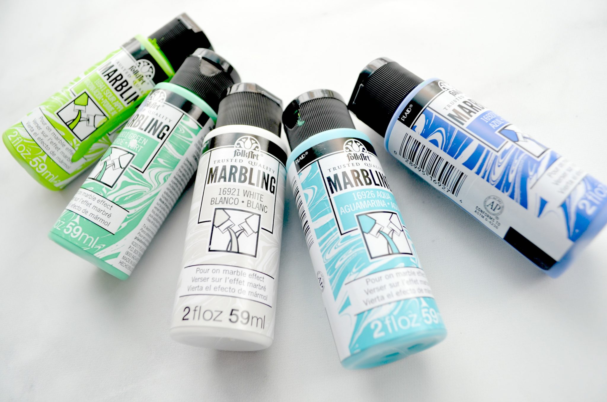 FolkArt Marbling Paints