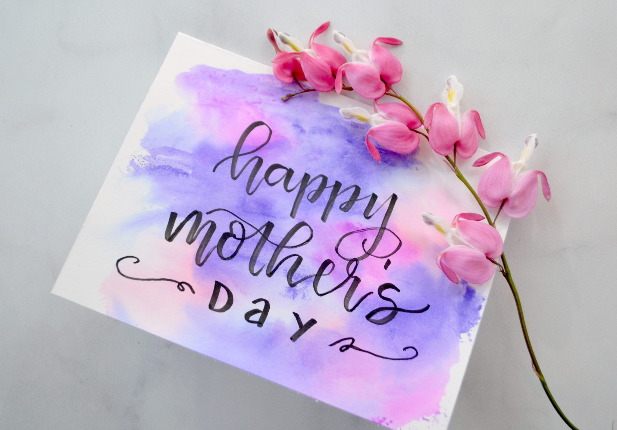 Mother's Day Watercolor Card
