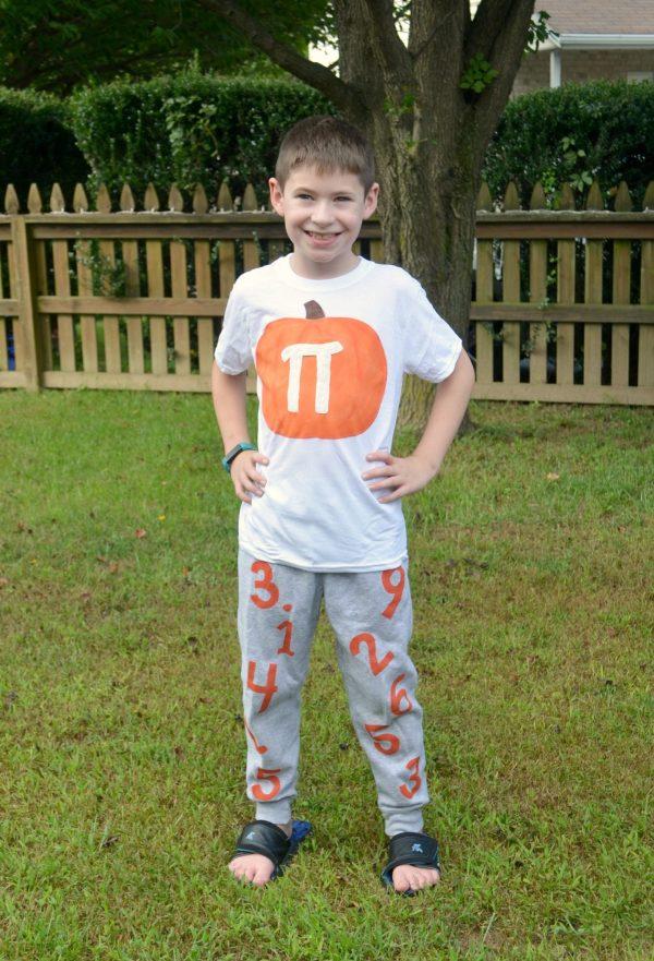 Pumpkin Pi Costume