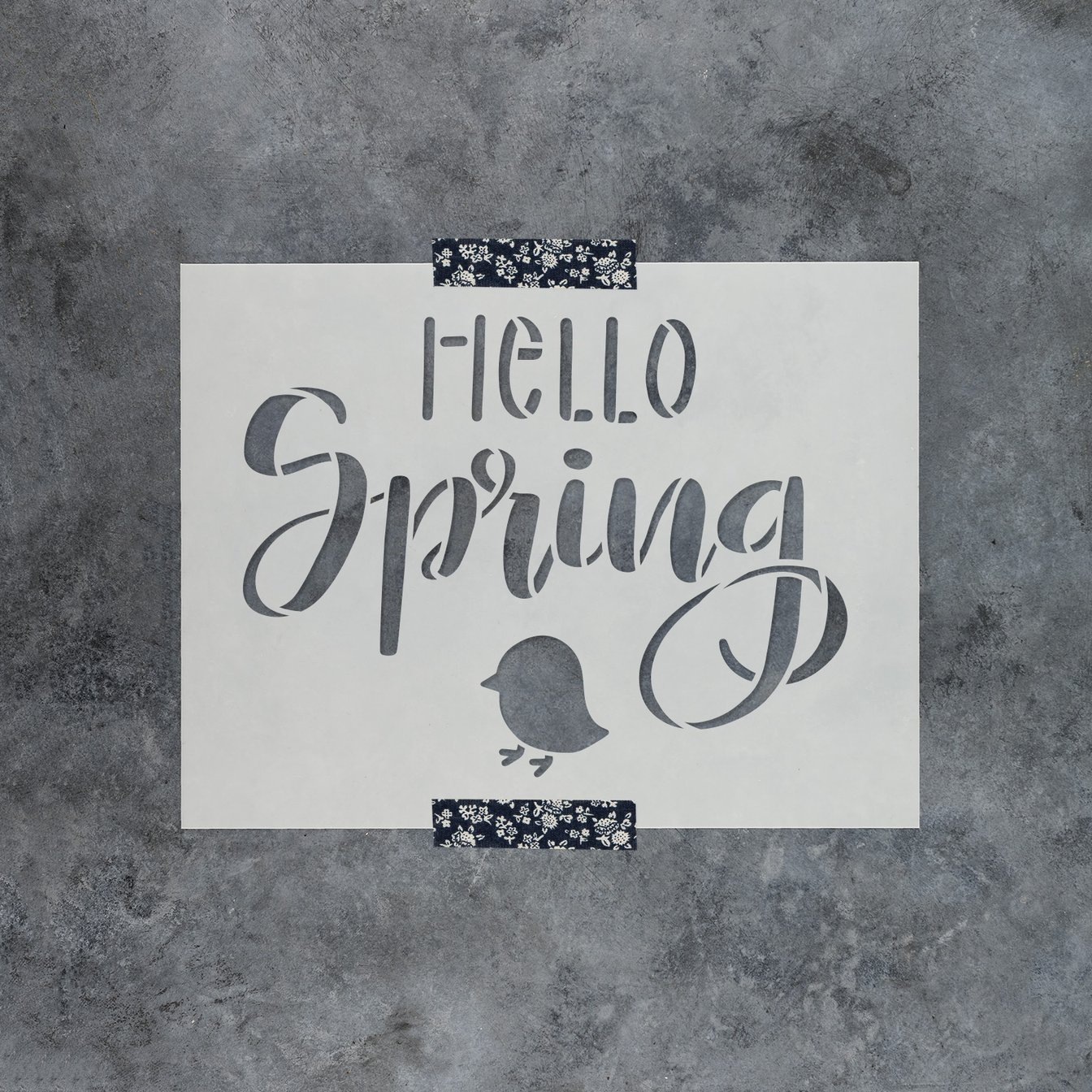 Hello Spring: Stencils by Amy Latta Collection at Stencil Revolution
