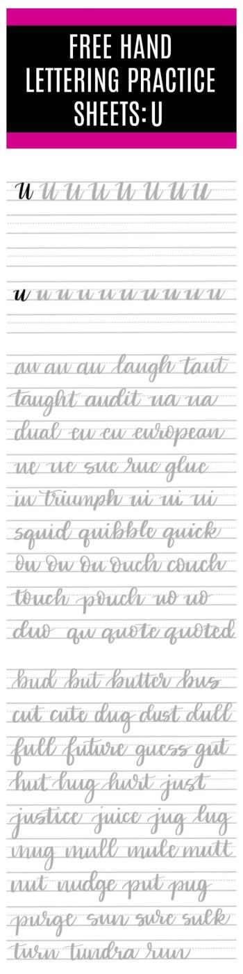 Brush Script U